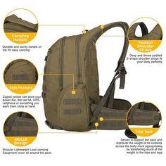 China Military Backpack