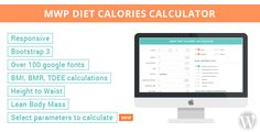 MWP Diet Calories Calculator v1.0.3