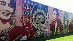Resultado de imagem para arte de rua nas paredes