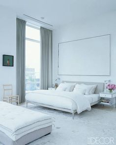 Master Bedroom Ideas. Jill Stuart's Sexy Downtown Digs. Interior Design: Annabelle Selldorf.