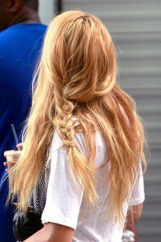 Image result for serena van der woodsen hairstyles waves and braids