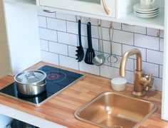 Babiekins Magazine|Craftykins // Mini Ikea Kitchen Makeover
