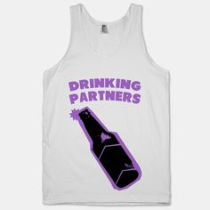 Drinking Buddies Shirts! @menaorellana & @Stephanie Close Close Close Close McBee Burgos