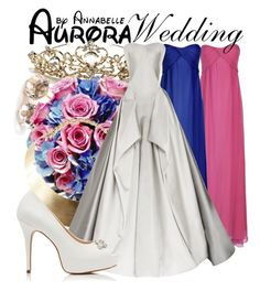 """""""Aurora - Wedding"""" by annabelle-95 ❤ liked on Polyvore featuring True Decadence, Ippolita, GUESS, Zac Posen and Forever New"""