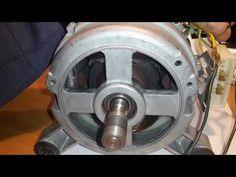 Tutorial dove vediamo come collegare un motore ad induzione recuperato da una lavatrice. Vedremo come connettere ed individuare i terminali giusti per la bas...