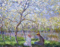 Springtime (Le Printemps), 1886, Claude Monet