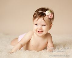 Coco b. Sweet Photography: Sweet baby S, 6 months portraits. Orange County New York baby photographer and photography studio.