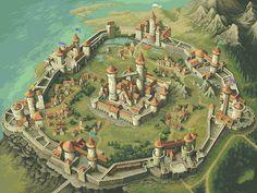 Medieval Anime Castle Gif 67