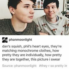 Dan Howell and Phil Lester British Youtubers, Best Youtubers, Phil Lester, Dan Howell, Phan Is Real, Dan And Phill, Phil 3, Danisnotonfire And Amazingphil, Tyler Oakley