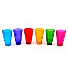 The Cutting Chai Express- Multi Colour-Large (Pack of 6)