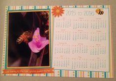 "Calendars 5"" x 7.5"" Fiscal year by Throomyiis on Etsy"