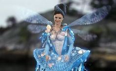 Keegan Connor Tracy as Blue Fairy - Once Upon a Time