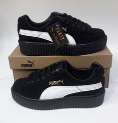 Puma Fenty siyah beyaz spor ayakkabı