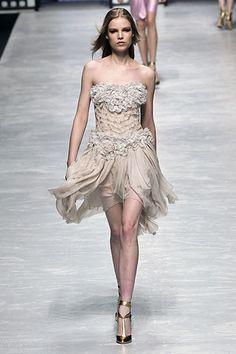Blumarine Fall 2008 Ready-to-Wear Fashion Show - Natasha Poly