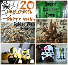 20 Fabulous Halloween Party Ideas & Printables