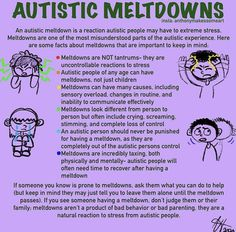 Autism Facts, Autism Signs, Autism Support, Adhd And Autism, Autism Information, Understanding Autism, Autism Research, Autism Quotes, Mental Health