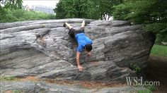 MovNat inspired natural fitness plan