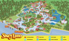 Park Map | Story Land in New Hampshire