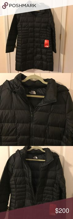 North Face Black Parka 2 Size Large NWT NWT North Face Parka 2 The North Face Jackets & Coats