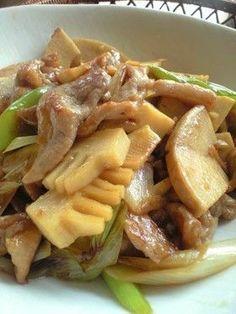 ✿筍と豚肉のオイスターソース炒め✿ by makkocafe [クックパッド ...