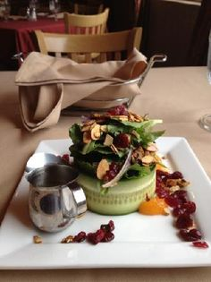 Salad Plating Idea