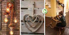Creativita' con la corda! Ecco 20 idee da cui trarre ispirazione…