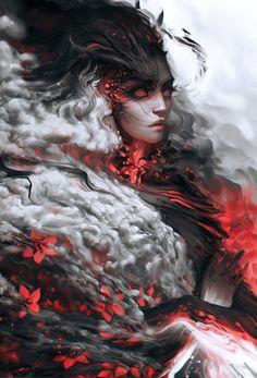Dark Fantasy Art, Fantasy Girl, Fantasy Artwork, Dark Art, Fantasy Character Design, Character Design Inspiration, Character Art, Fantasy Inspiration, Character Portraits