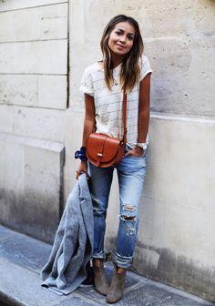 nice 50 Идей, с чем носить женские джинсы-бойфренды (фото) Читай больше http://avrorra.com/dzhinsy-bojfrendy-zhenskie-s-chem-nosit-foto/
