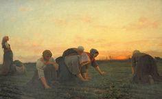Jules Breton: The Weeders, 1868, Metropolitan Museum of Art, NYC