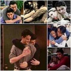 Joey hugs