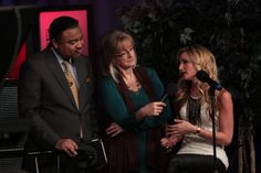 Alex Coleman & Marybeth Conley interview singer KC Johns on the Live At 9 music stage at WREG-TV in downtown Memphis.