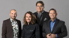 The <i>Masterchef Australia</i> series 7 team: (from left) George Calombaris, Shannon Bennett, Matt Preston and Gary Mehigan. Gary Mehigan, Australian News, Chef Shows, Masterchef Australia, Good Luck To You, Book Tv, Fabulous Foods, Celebs, Celebrities