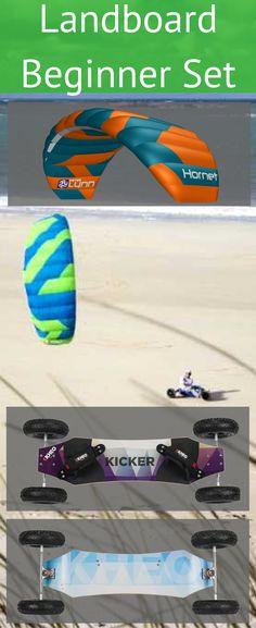 LAndboarden reizt dich schon ewig aber nun bist du soweit und willst endlich starten. Dann bist du hier absolut richtig, hier findest du das perfekte Landboard Einsteiger Set. Action Sport, Kite, Dragons