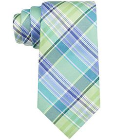 Tommy Hilfiger Summer Plaid 1 Tie - Ties & Pocket Squares - Men - Macy's