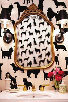 Puppies Wallpaper @Ada & Darcy// Attention @Abby Farson Pratt.