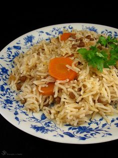 Ryza so sosovicou a mrkvou