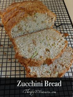 Made from scratch doesn't have to be time consuming! You'll have this zucchini bread whipped up and in the oven in no time!