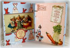 Dar's Crafty Creations: Crafty Secrets Kitchen Memories Booklet