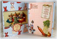 Dar's Crafty Creations: Crafty Secrets Kitchen Memories Booklet