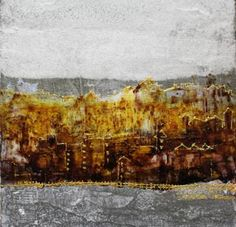 Abstract in yellow