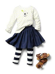 Baby Clothing: Toddler Girl Clothing: Featured Outfits Trend Shop   Gap