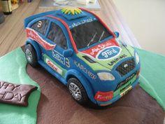 Rally Car Cake - Cake by PartyCakesByHayley