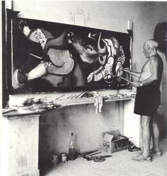 Atelier de Picasso …
