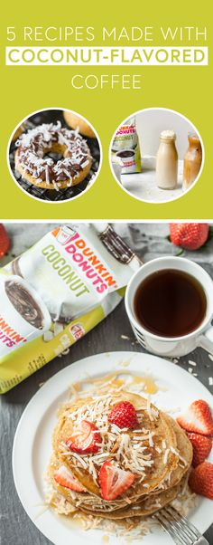 From Mocha Coconut Iced Coffee to Chocolate-Dipped Gluten-Free Doughnuts, this collection of 5 Recipes Made With Coconut Flavored Coffee has so many ways to put Dunkin' Donuts® Coconut Flavored Coffee to tasty, delicious use! If you're looking to make mornings brighter and breakfast even more flavorful, make sure to check out these coffee creations. Plus, you can find everything you'll need to try these dishes for yourself at Target.