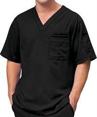 Grey's Anatomy Scrubs Men's V-Neck Top
