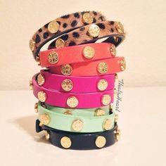 Tory Burch bracelets♥ need a few!