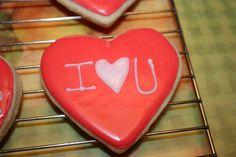 valentines sugar cookie