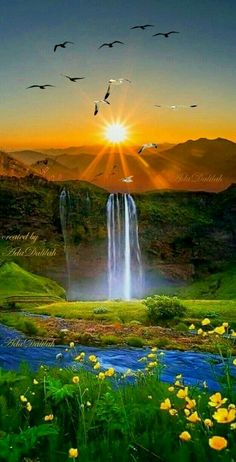 Beautiful sunset landscape more at @ Beautiful Nature Pictures, Beautiful Nature Wallpaper, Amazing Nature, Nature Photos, Beautiful Landscapes, Beautiful Nature Scenes, Nature Artwork, Beautiful Scenery, Amazing Sunsets