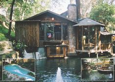 Frank and Gail Zappa's home • Laurel Canyon / The Green Life <3… In this home…rock n roll history was made.