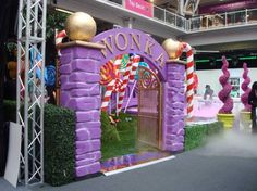 Another Great Entrance To A Wonka Event Eventprophire Factory